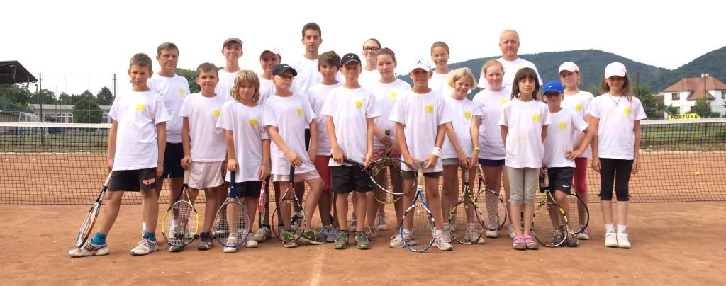 Tenisové soustředění v Třemošnici, 2015