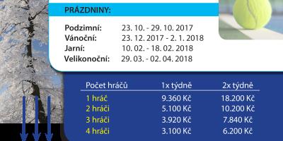 Tenisová škola S_Matějovská zimní halová sezóna 2018 HALA-2