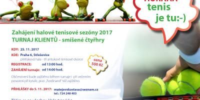 Turnaj klientů zahájení sezóny 2017 listopad